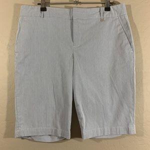 Calvin Klein Pinstriped Shorts